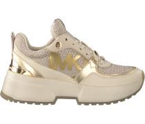 Goldfarbene Michael Kors Sneaker Low Ballard Trainer