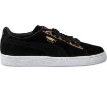 Schwarze Puma Sneaker Suede Jewel Metalic