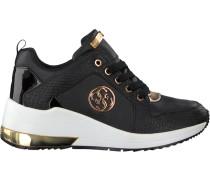 Schwarze Guess Sneaker Jaryd