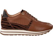 Cognacfarbene Fred De La Bretoniere Sneaker 101010070