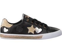 Schwarze Guess Sneaker Flmem1 Ele12S