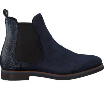 Blaue Omoda Chelsea Boots 54A005