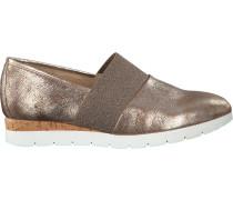 Bronzefarbene Gabor Slipper 687.1