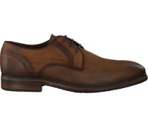 Cognacfarbene Braend Business Schuhe 15545