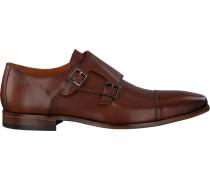 Cognacfarbene Van Lier Business Schuhe 1918908