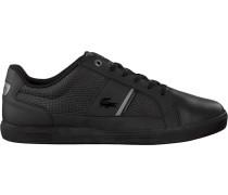 Schwarze Lacoste Sneaker Europa