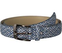 Blaue Rehab Gürtel Belt Checker