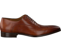 Cognacfarbene Business Schuhe 10648