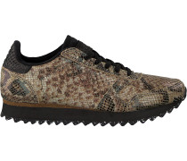 Braune Woden Sneaker Ydun Snake