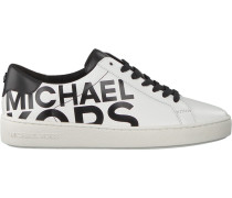 Schwarze Michael Kors Sneaker Irving Lace UP