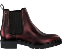 Braune Chelsea Boots Metallic Leather Chelsea Boot