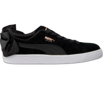Schwarze Puma Sneaker Suede BOW Women