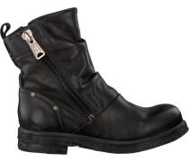 Schwarze Replay Biker Boots Rl260056L Raincot