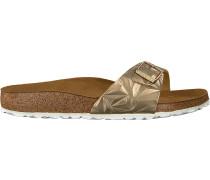 Goldene Birkenstock Papillio Shoe Madrid Spectral