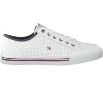 Tommy Hilfiger Sneaker Low Core Corporate Weiß Herren