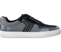 Blaue Hugo Boss Sneaker Enlight Tenn Knit