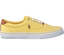 Gelbe Polo Ralph Lauren Sneaker Thorton