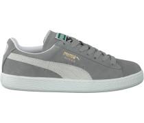 Graue Puma Sneaker Suede Classic+ Dames