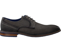 Graue Braend Business Schuhe 15696