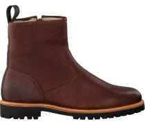 Braune Blackstone Ankle Boots Sg54