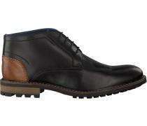 Schwarze Omoda Ankle Boots Omoda 627