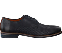 Blaue Van Lier Business Schuhe 1855601