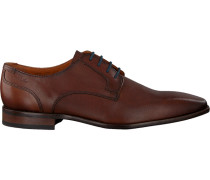 Cognacfarbene Van Lier Business Schuhe 1914500