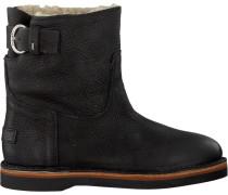 Schwarze Shabbies Ankle Boots 181020054