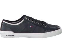Blaue Sneaker Core Corporate Leather Sneaker