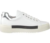 Weiße Roberto d'Angelo Sneaker Brest