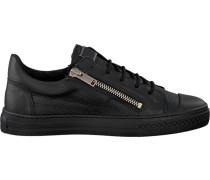 Schwarze Sneaker Mmfw00911