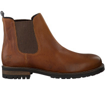 Cognac McGregor Chelsea Boots Crestone