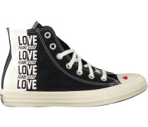 Schwarze Converse Sneaker High Chuck Taylor All Star Hi