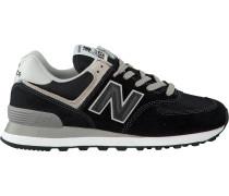 Schwarze New Balance Sneaker Wl574