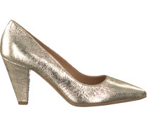 Goldfarbene Janet & Janet Pumps 41450