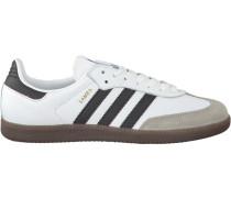 Weiße Adidas Sneaker Samba Heren