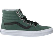 Grüne Vans Sneaker SK8 HI Reissue WMN