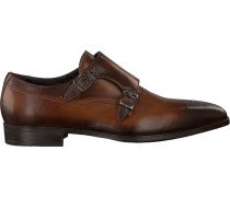 Cognacfarbene Giorgio Business Schuhe He50243