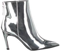 Graue Steve Madden Ankle Boots Shine Ankleboot