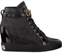 Black Guess shoe Flfry3 Fal12