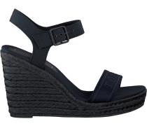 Blaue Tommy Hilfiger Sandalen Tommy Wedge Sandal