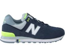 Blaue New Balance Sneaker Ml574