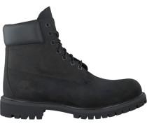 Schwarze Timberland Ankle Boots 6IN Premium Heren