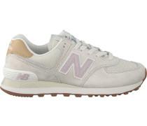 Beige New Balance Sneaker Wl574