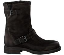 Schwarze Ca'Shott Biker Boots 18013