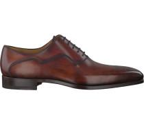 Cognacfarbene Magnanni Business Schuhe 18913