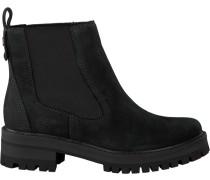 Schwarze Chelsea Boots Courmayeur Valley CH