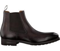 Braune Magnanni Chelsea Boots 21259