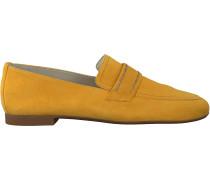 Goldfarbene Paul Green Loafer 2504-016