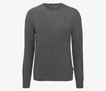 Kaschmir-Pullover Cashmono in Grau melange